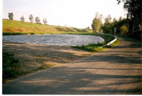 víceúčlová vodní plocha - koupaliště